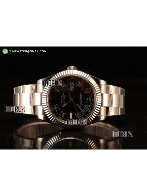 DateJust Oyster Perpetual 41 BP Diamonds Markers B...