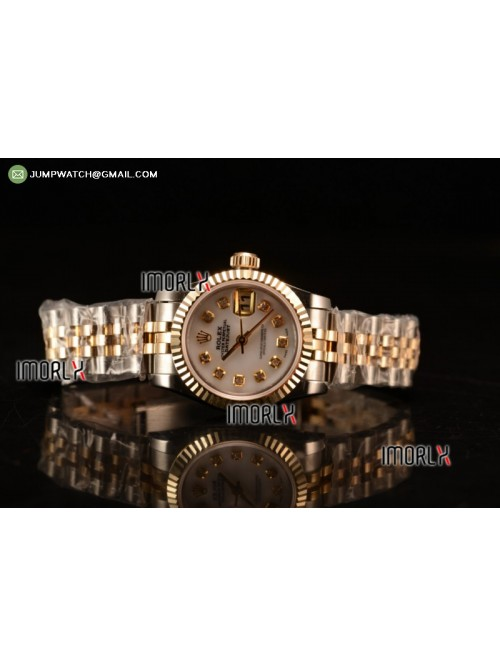 DateJust Oyster Perpetual 26 BP  Top Quality White...