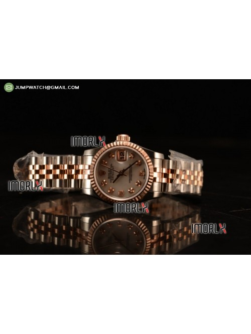 DateJust Oyster Perpetual 26 BP Top Quality White ...