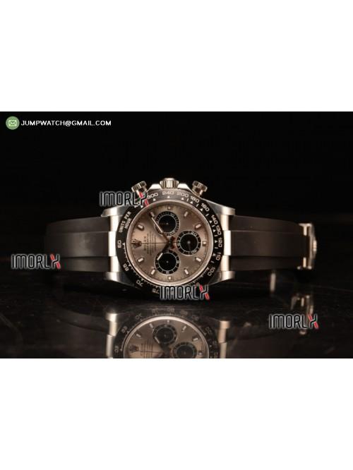 Daytona 40 NOOB Best Replica Grey Dial Diamonds Ma...