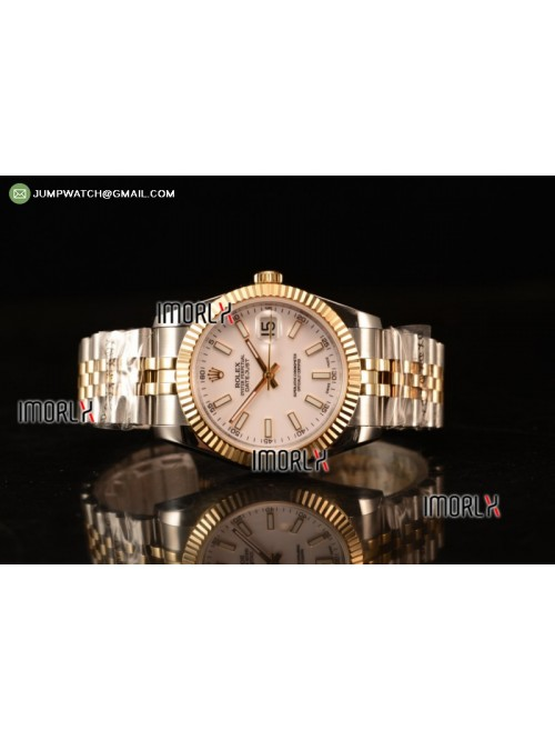 DateJust 41 126303 Best Edition YG Wrapped White D...
