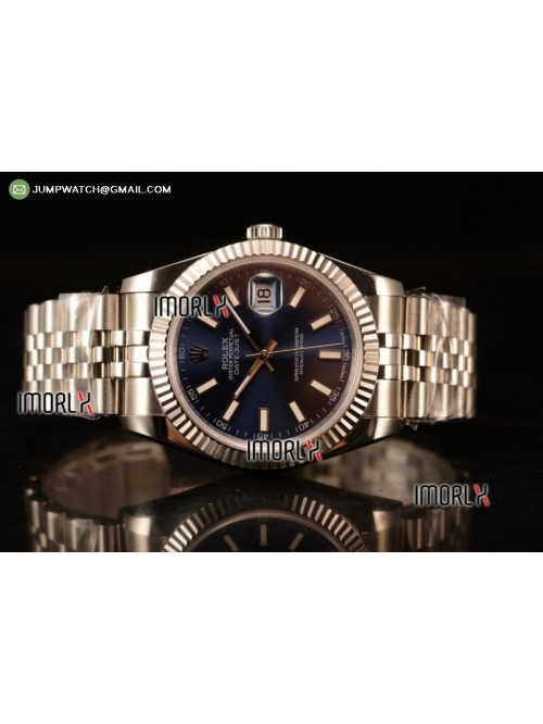 DateJust II 41mm BP Best Edition Blue Stick Makers...