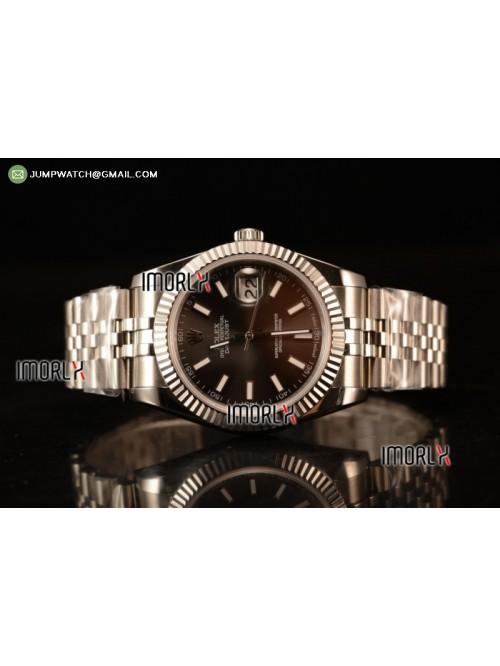 DateJust II 41mm BP Best Edition Grey Stick Makers...
