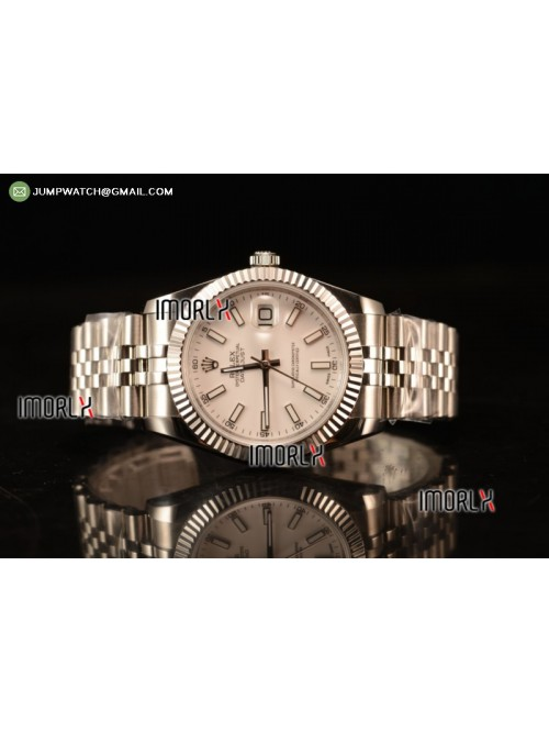 DateJust II 41mm BP Best Edition White Stick Maker...