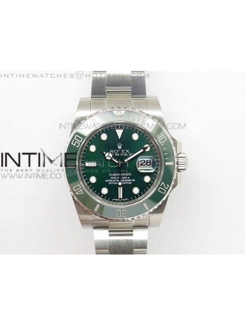 Submariner 116610 LV Green Ceramic V2 1:1 JF Best ...