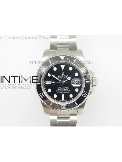 Submariner BP 116610 LN V2 Version SS Case Black d...