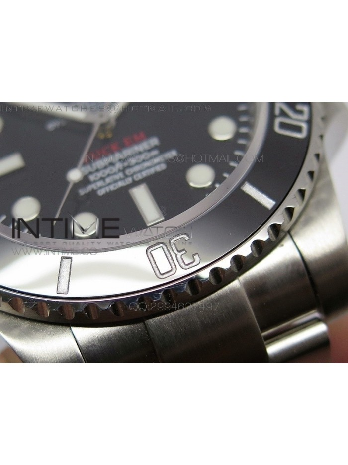 No Date Submariner 114060 FXXK EM Special Edition BP A2836