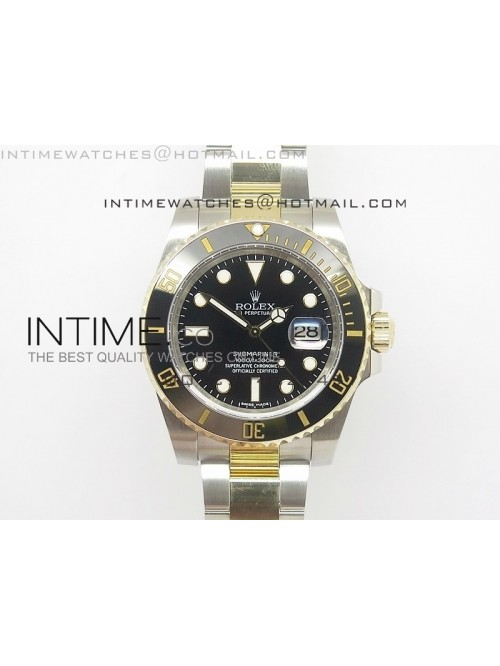 Submariner 116613 LN Noob 1:1 Best Edition YG Wrap...