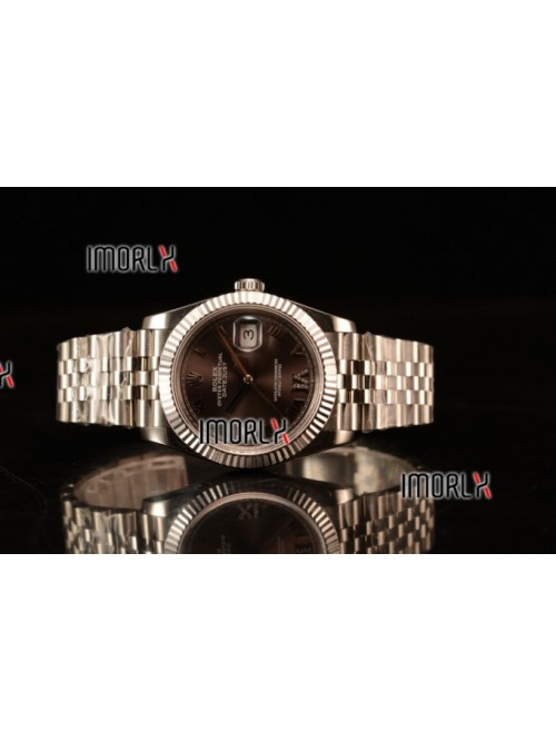 Rolex Datejust 37mm Swiss ETA 2836 Automatic Steel...