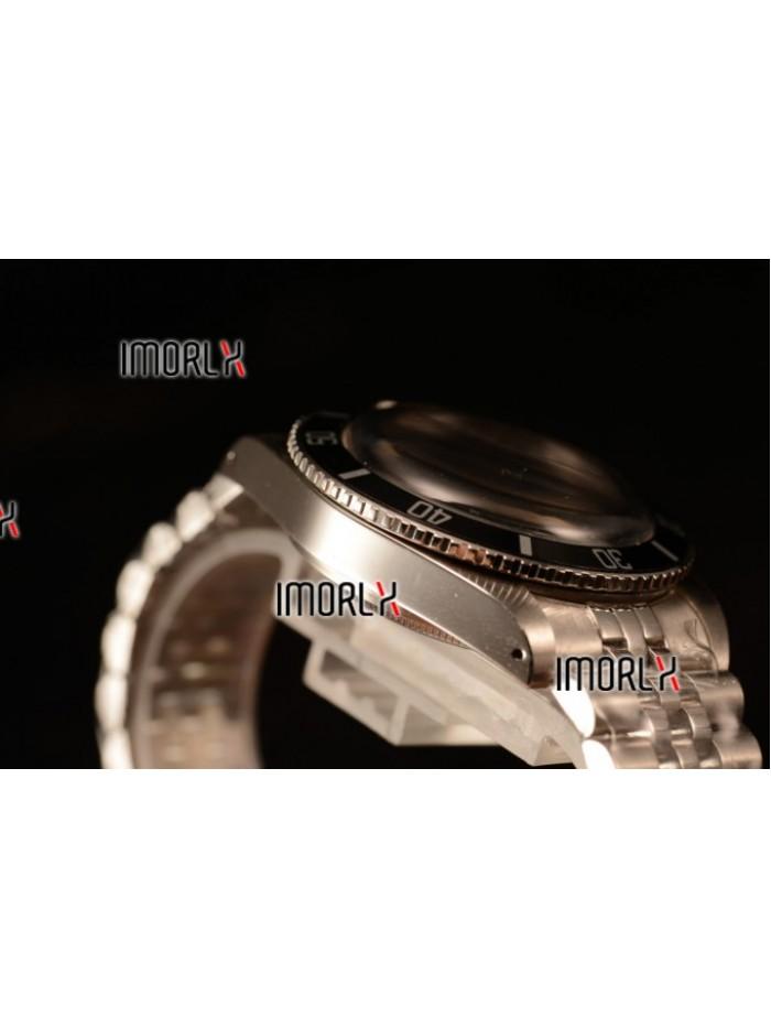 Rolex Milgauss Vintage Steel Case With Black Dial White Dot Jubilee Bracelet