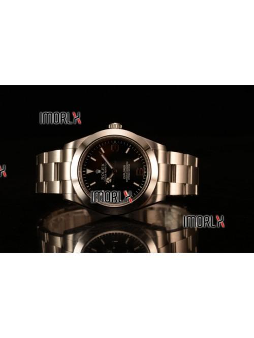 Rolex Explorer II Swiss ETA 2836 Steel Case Black ...