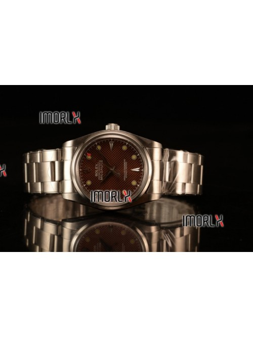 Rolex Milgauss Vintage Steel Case With Brown Dial ...