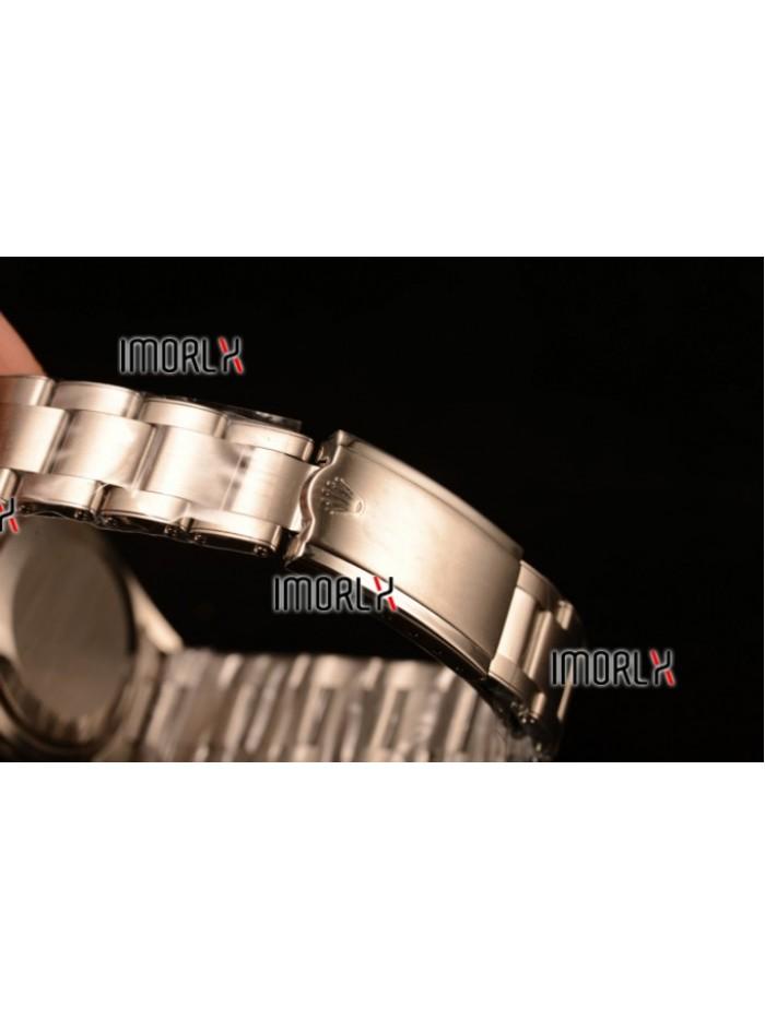 Rolex Milgauss Vintage Steel Case With Brown Dial White Dot Oyster Bracelet