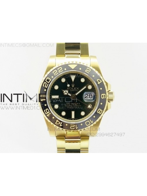 GMT-Master II 116718LN YG BP Green Dial Ceramic Be...