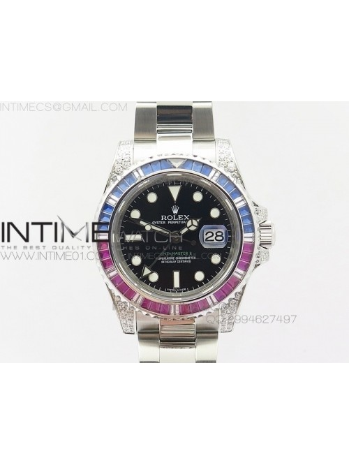 GMT-Master II 116759 SS BP Blue/Red ruby crystal B...