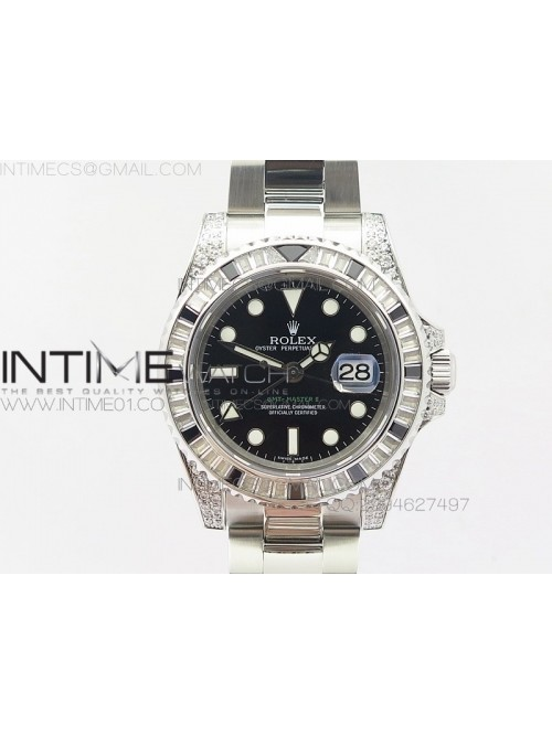 GMT-Master II 116759 SS BP Black ruby crystal Beze...