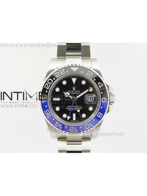 GMT-Master II 116710 BLNR Black/Blue Ceramic V7 1:...