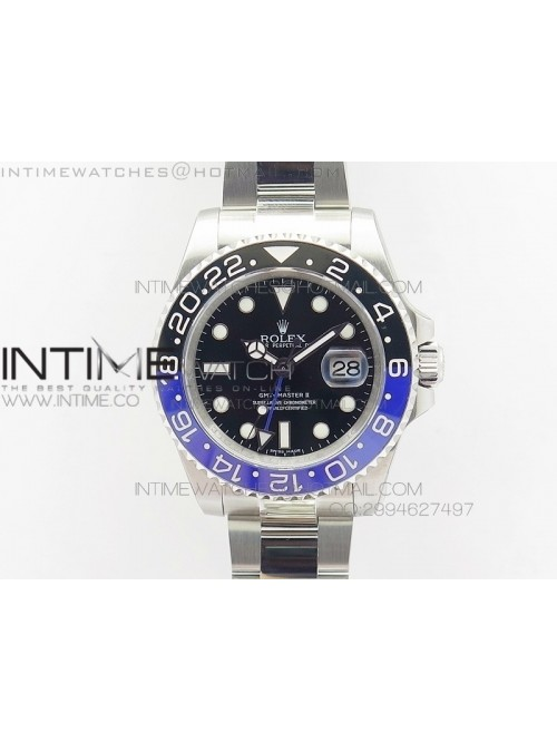 GMT-Master II 116710BLNR JF V2 Black/Blue Ceramic ...