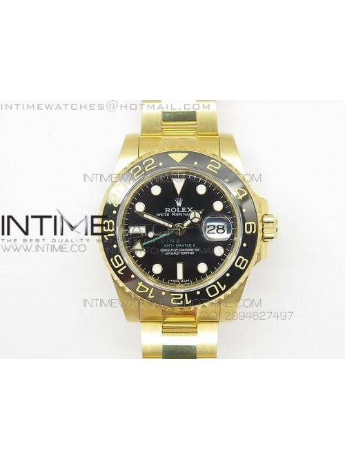 GMT-Master II 116718 LN BP Best YG Wrapped Gold Be...