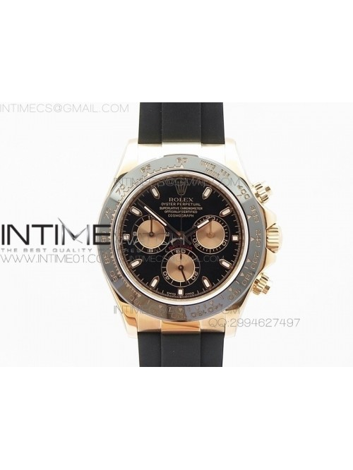 Daytona 116515 Noob 1:1 Best Edition Black Dial on...