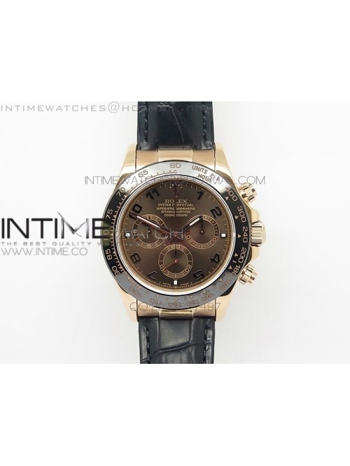 Daytona 116515 JF 1:1 Best Edition Brown Dial on B...