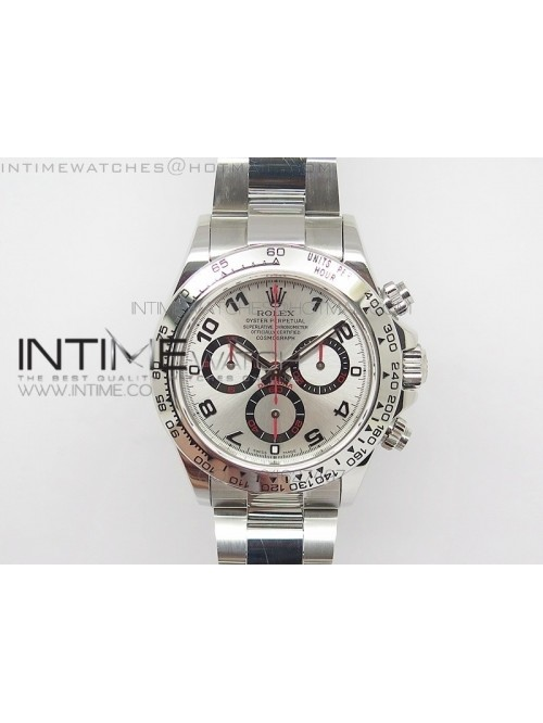 Daytona 116509 JF 1:1 Best Edition Silver Dial on ...
