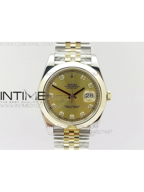 DateJust 41 126303 Noob 1:1 Best Edition YG Wrappe...