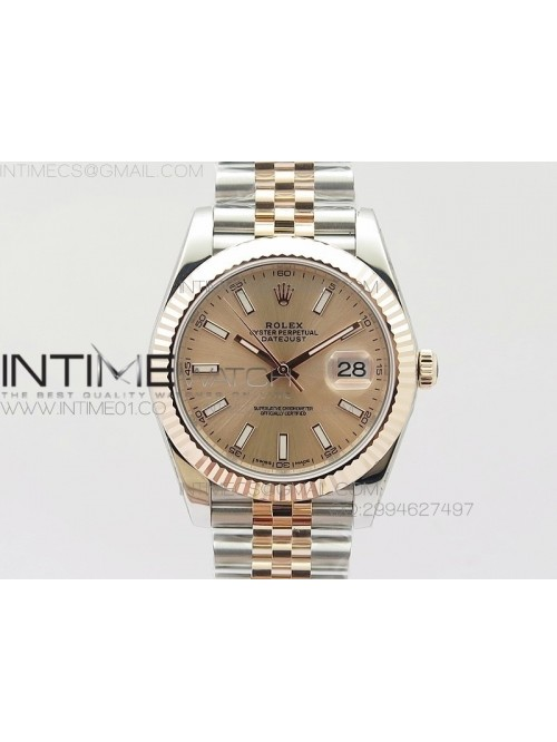 DateJust 41 126303 Noob 1:1 Best Edition RG Wrappe...