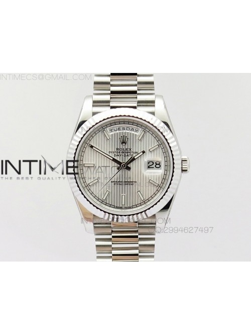 Day-Date 40 228235 Noob 1:1 Best Edition White Dia...