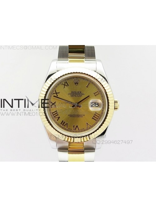 DateJustII 116333 SS/YG 41mm EW Best Edition Gold ...