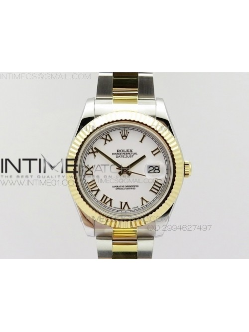 DateJustII 116333 SS/YG 41mm EW Best Edition White...