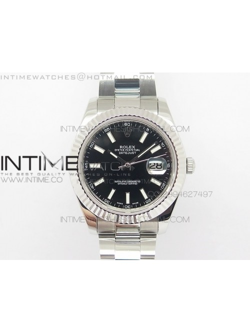 DateJust II BP Best EditionV2 Black Stick Dial 41m...