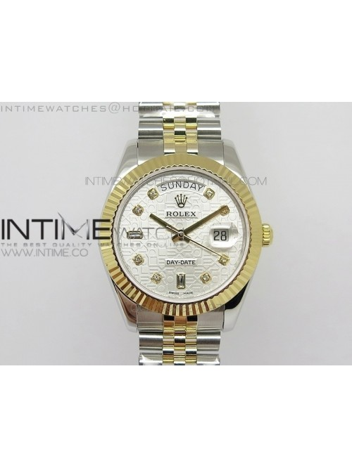 DayDate II 41mm MK Best Edition SS/YG Wrapped Whit...