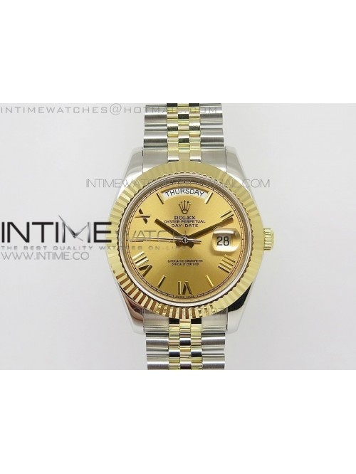 DayDate II 41mm MK Best Edition SS/YG Wrapped Gold...