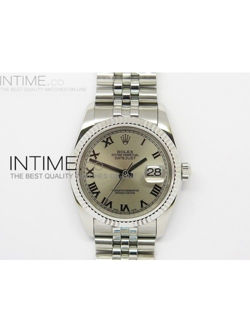 DateJust 116234 SS Pink Dial Roman Markers on SS B...