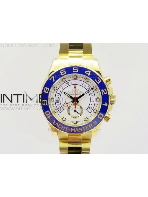YachtMaster II 116688 YG JF 1:1 Best Edition White...