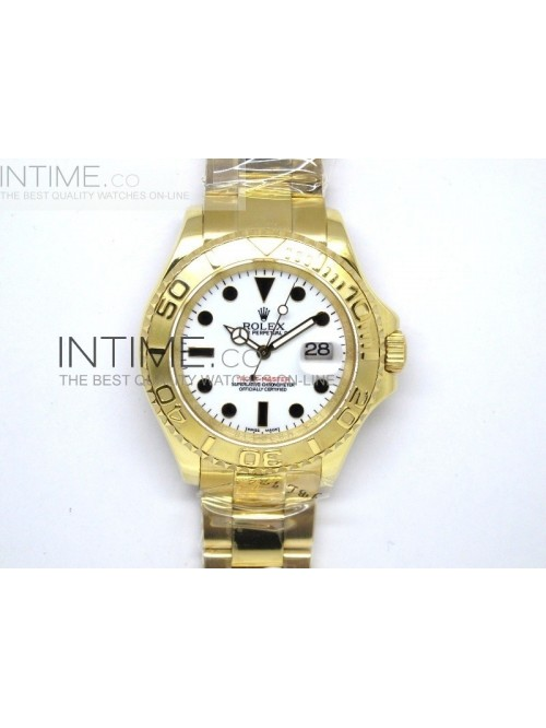 YachtMaster Full Gold White Dial - Swiss ETA 2836