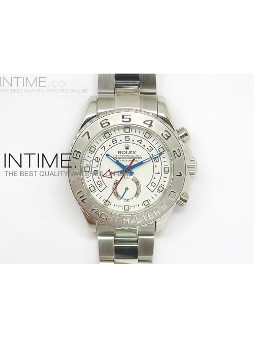 2014 YachtMaster II SS White Dial on Bracelet A281...