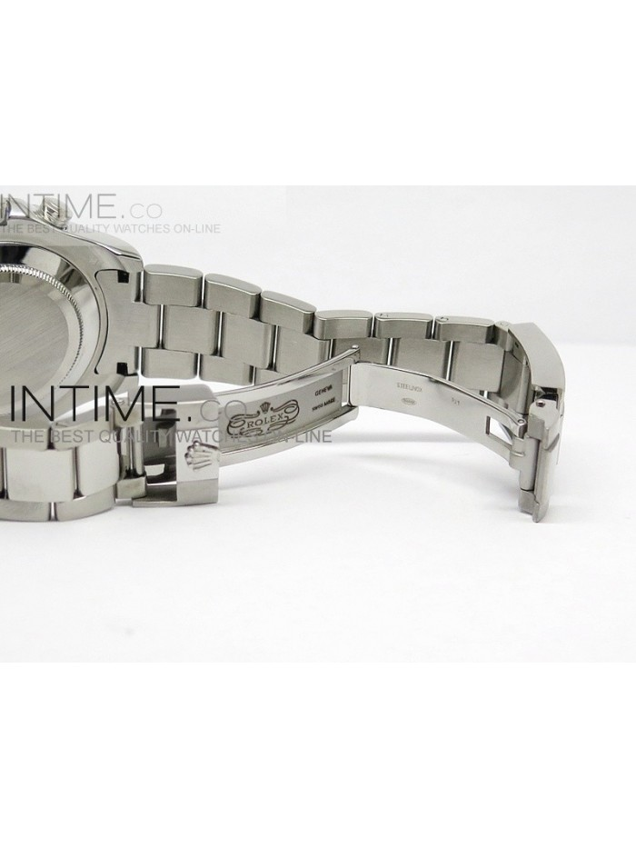 2014 YachtMaster II SS White Dial on Bracelet A2813