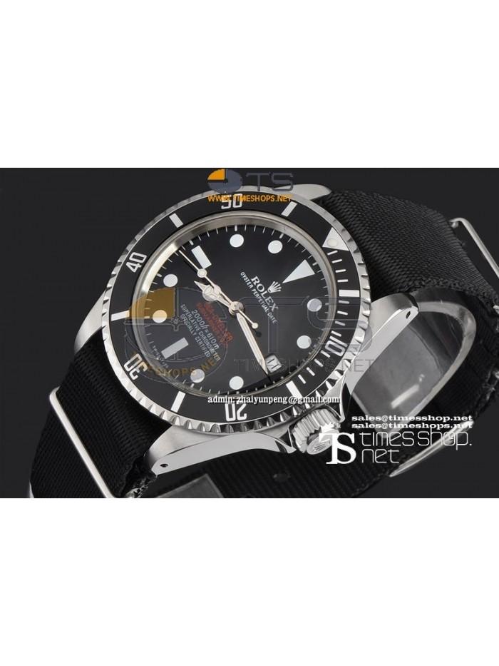 RO7520-  Vintage Sea-Dweeler Black Dial SS/NY