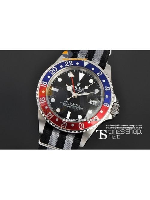 RO7481 -  Vintage GMT-Master Black Dial SS/NY