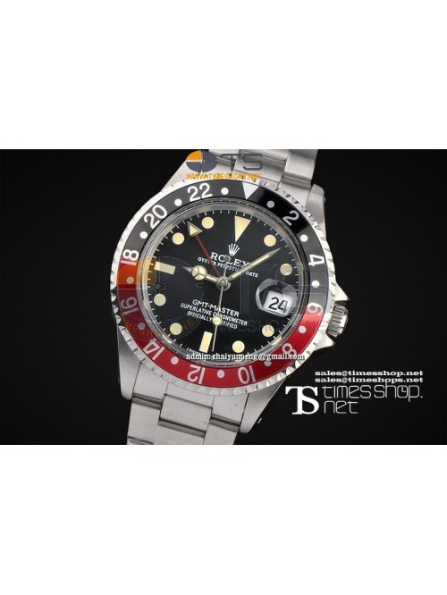 RO7461 -  Vintage GMT-Master Black Dial SS/SS