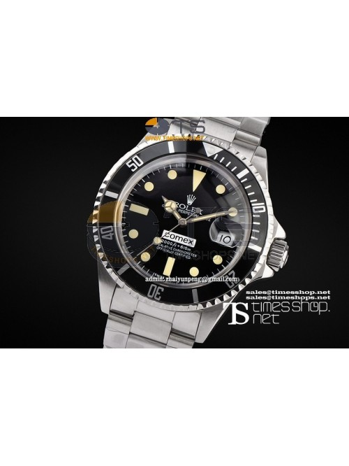 RO7421 -  Vintage Comex Black Dial SS/SS