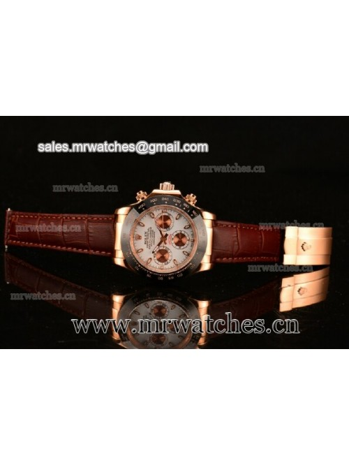Rolex Daytona II Rose Gold Mens Watch - 116515 LNw...