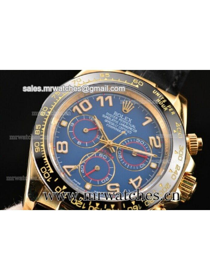 Rolex Daytona II Yellow Gold Mens Watch - 116518blabk