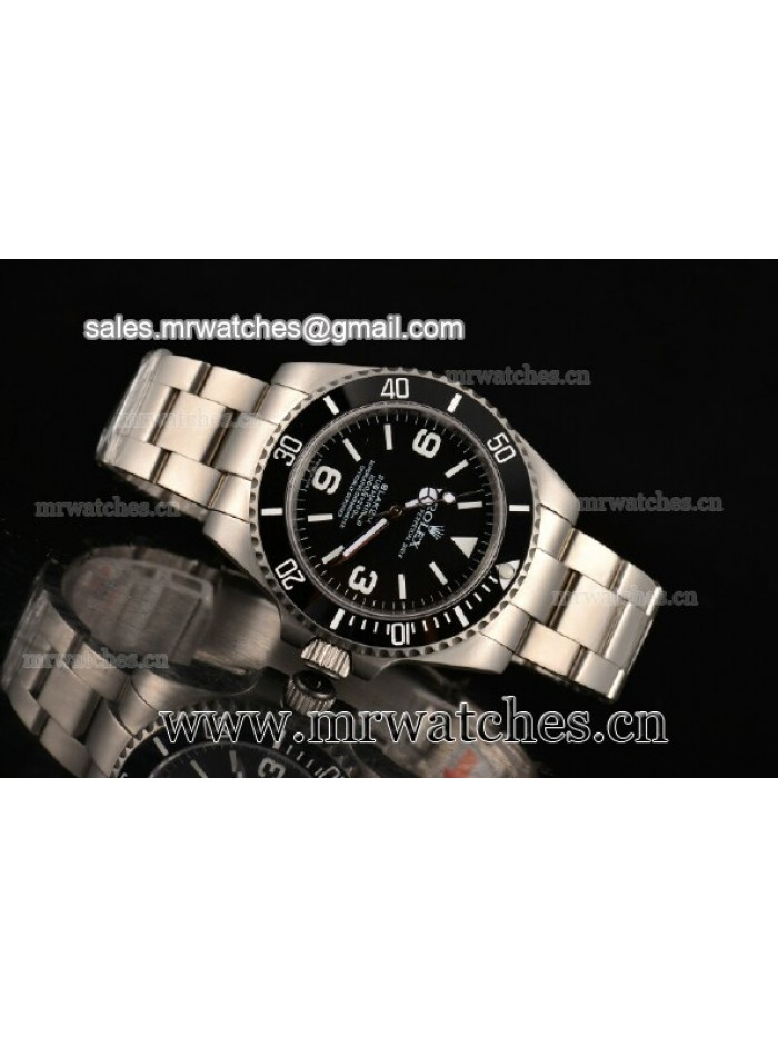 Rolex Blaken Submariner 43MM Steel Mens Watch - 116611