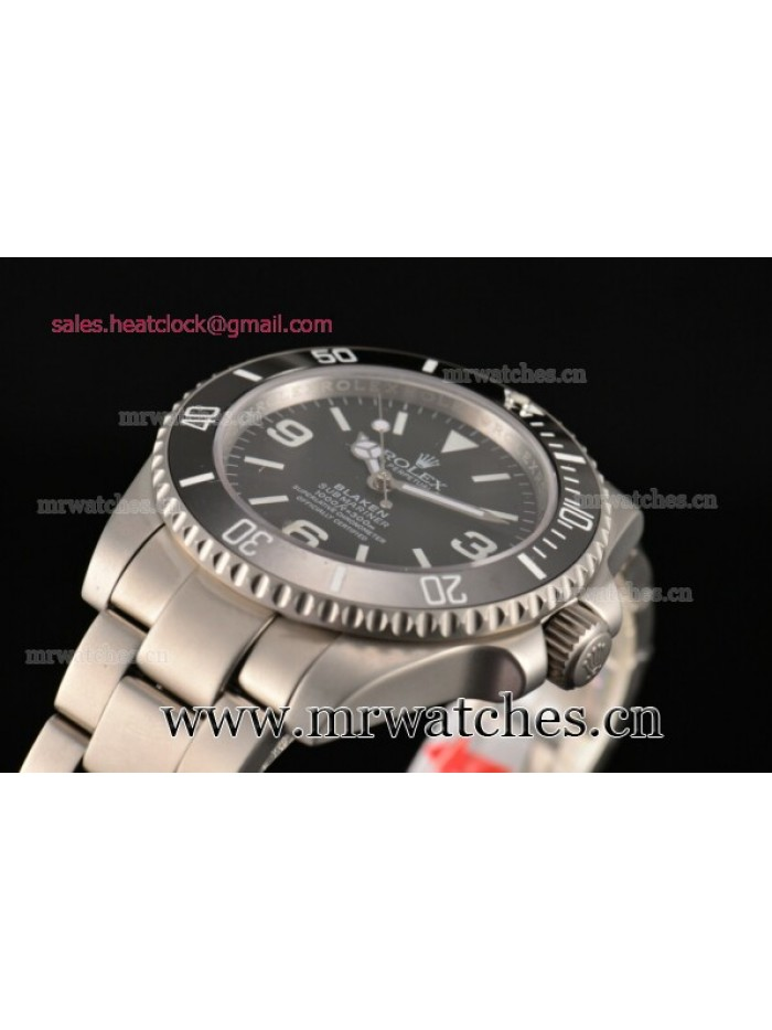 Rolex Blaken Submariner Steel Mens Watch - 116611