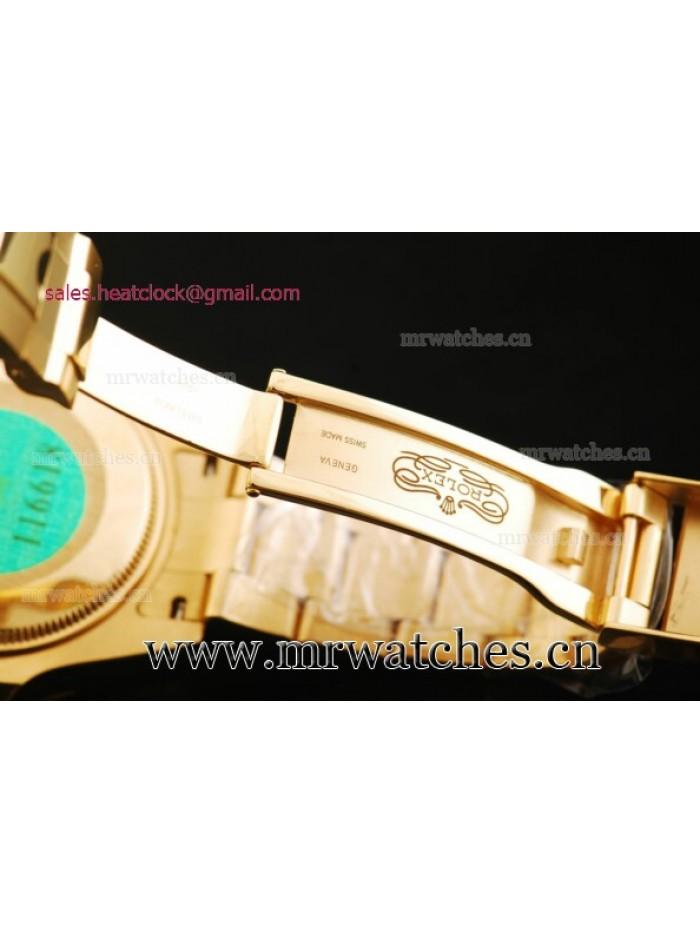 Rolex Submariner 43mm Yellow Gold Mens Watch - 116618