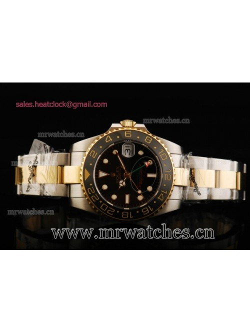 Rolex GMT-Master II Yellow Gold Mens Watch - 11671...
