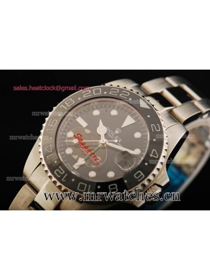 Rolex GMT-Master II Full Steel Mens Watch - 116710SU